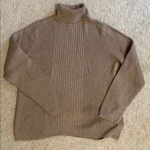 CHARTER CLUB Ribbed turtleneck top!